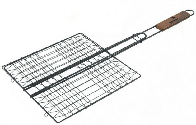 Easy Camp Grill Basket, Outdoor Camping Cooking Accessories - Grasshopper Leisure